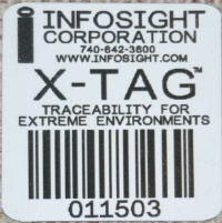 X-Tag™ Metal Tags